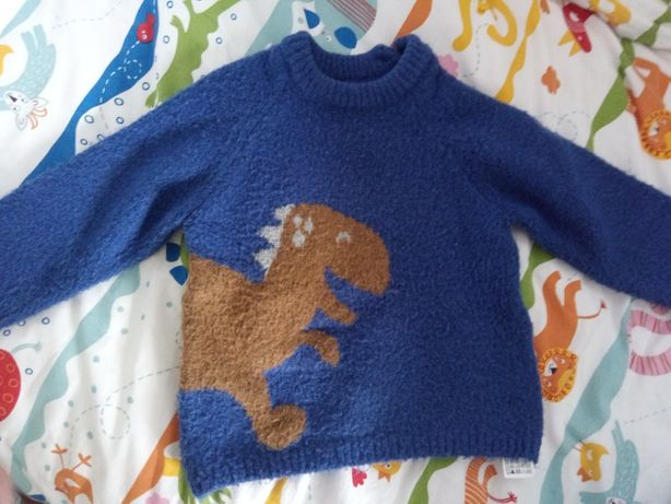 Conjunto 4 camisolas lã menino 18 / 24 meses