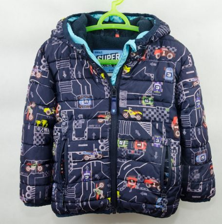 Теплая куртка Next размер 1,5 - 2 года для мальчика