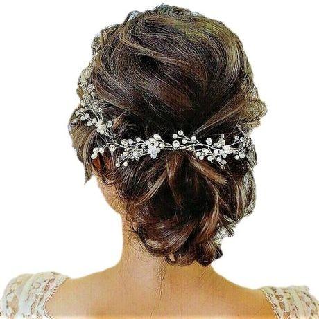 Ozdoba ślubna do włosów boho ślub
