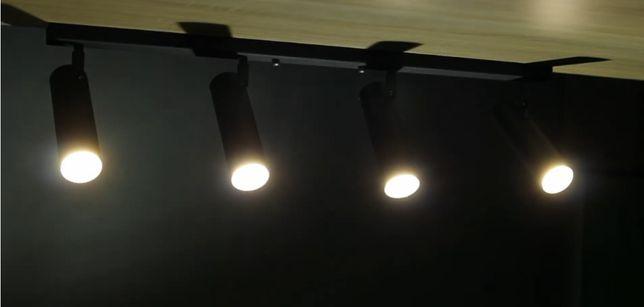 Трековый светильник Е-27 Лофт, Точечный светильник, Люстра поворотная