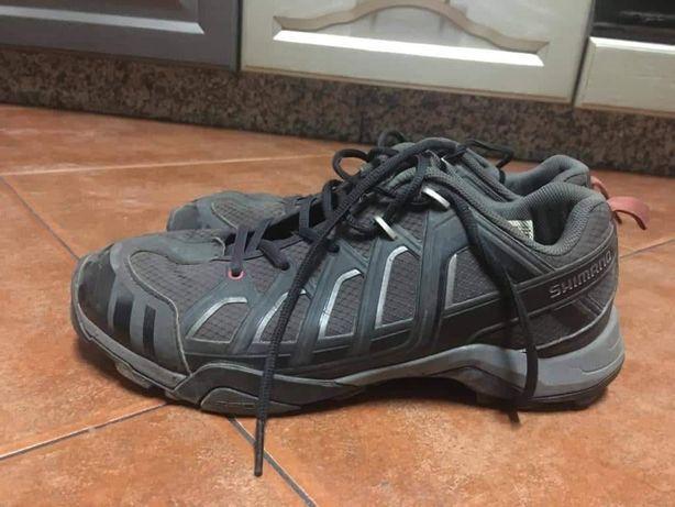 Sapatos shimano  spd de btt