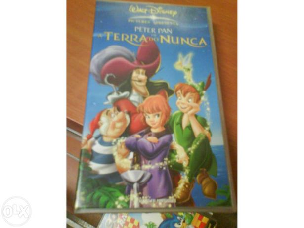 Peter Pan na Terra do Nunca - VHS