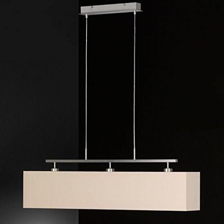 Lampa wisząca styl Skandynawskim CASTA HONSEL abażur duży gwint E27