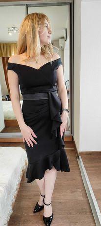 Платье чёрное праздничное