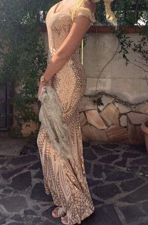 Очень крутое вечернее платье