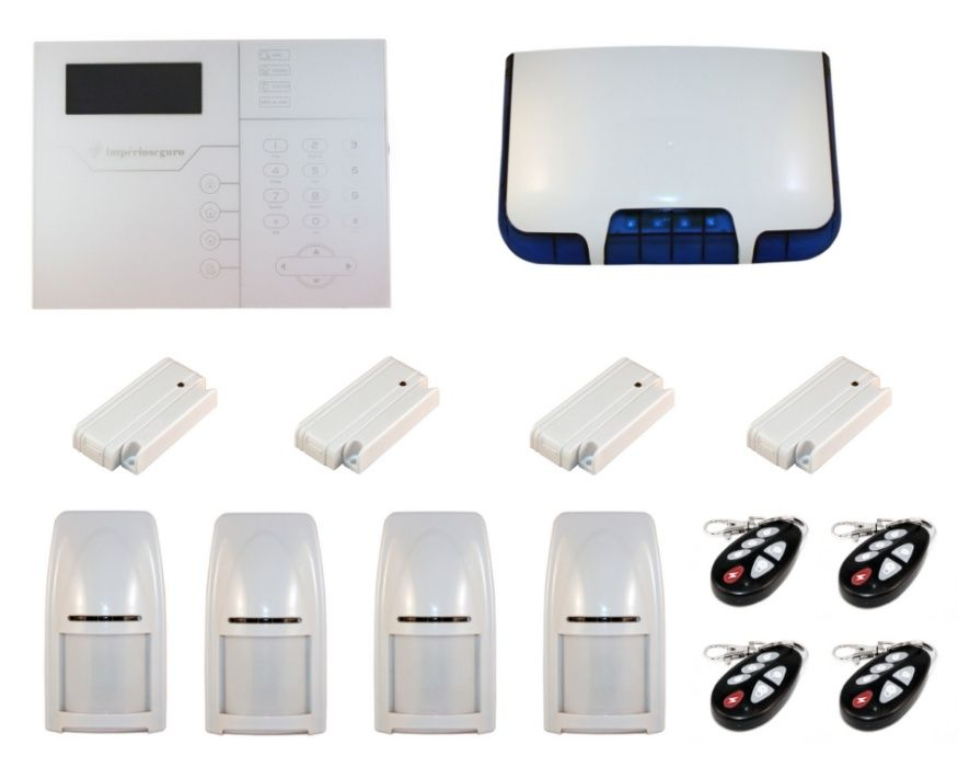 Alarme para casa GSM Profissional sem fios Bidireccional 433/868Mhz Esmoriz - imagem 1