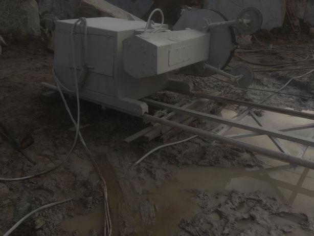 Máquina de corte de fio de pedreiras
