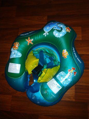 Надувной круг для малышей до года