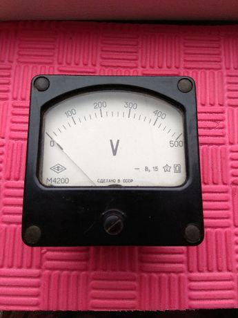 Вольтметр постоянного тока М4200, 0-500 В