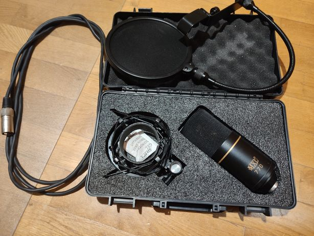 MXL 770 Mogami + dodatki
