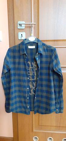 Koszula w kratę 152