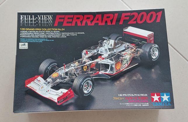 Kit Tamiya Ferrari F2001 Full View