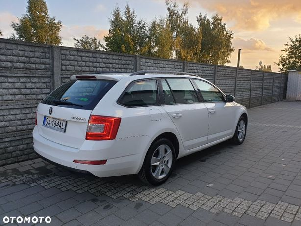 Škoda Octavia Skoda Octavia III kombi salon PL bezwypadkowy serwis