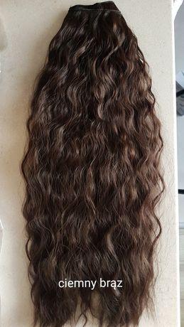 Doczepiane włosy Clip in 57cm,140gram