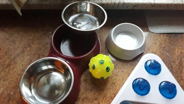 Miski i akcesoria dla szczeniaka, małego pieska, pies starter