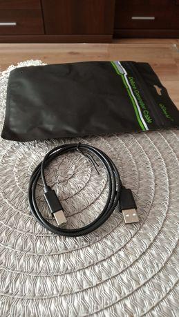 Nowy kabel, przewód USB A-B, do drukarki, skanera, fax, 1m