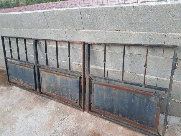 Portão de ferro 3 partes