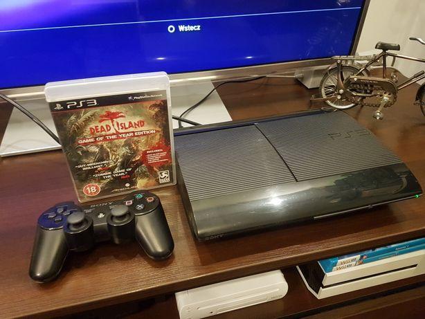 Sony PlayStation 3 super slim 12 gb ps3 blue ray