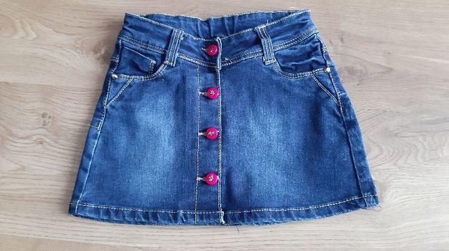 Spódnica jeansowa, jeans 98/104