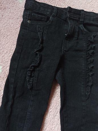Spodnie dla dziewczynki 104/110