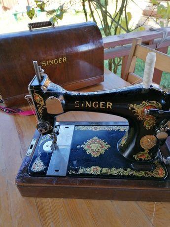 Singer walizkowa XIX wiek