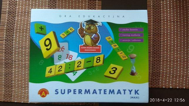 Gra edukacyjna Super matematyk
