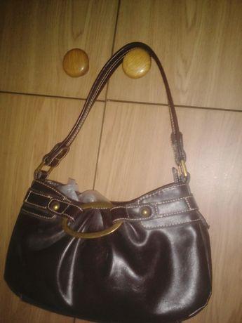 Женская сумочка коричневая NEXT одна уплотненная ручка жіноча сумка