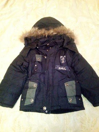 Зимняя куртка, р. 98, 3 года