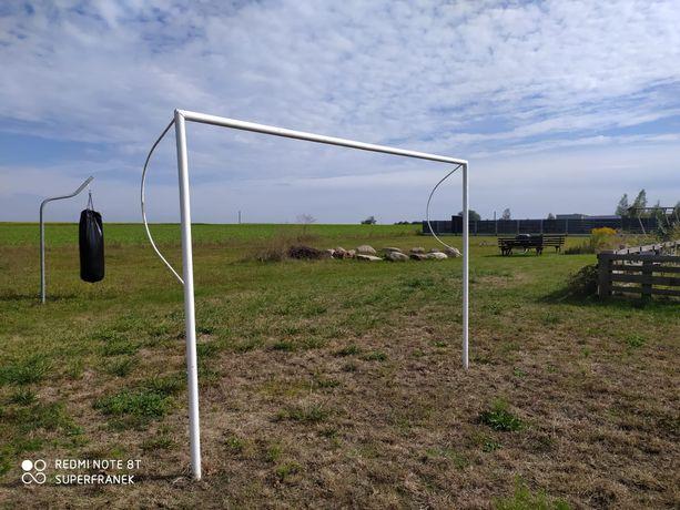 Bramki piłkarskie 3x2, ręcznie robione, rura fi 50