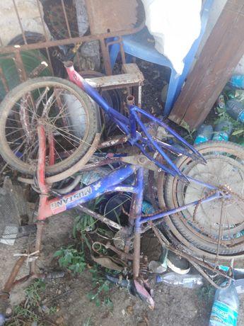 Б/у запчасти к детским и взрослым велосипеда.