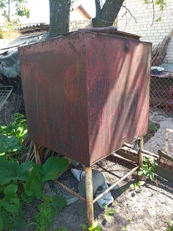 Бак для воды 1 куб метал