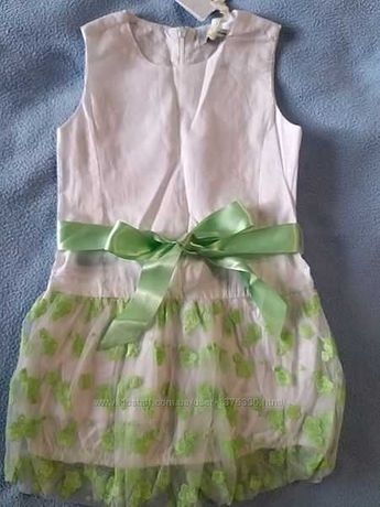 Платье нарядное праздничное Gaialuna Италия 104 см 3-4года детское