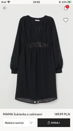 Sukienka ciążowa H&M