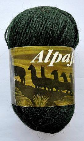 Нитки пряжа для вязания Alpafina 100% шерсть (50% альпака, 50% овечья)