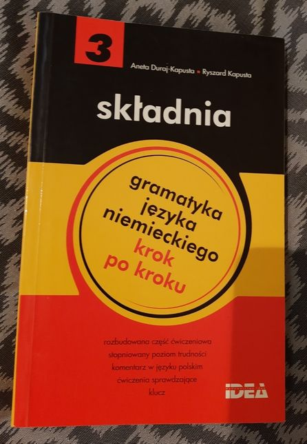 składnia - gramatyka języka niemieckiego krok po kroku