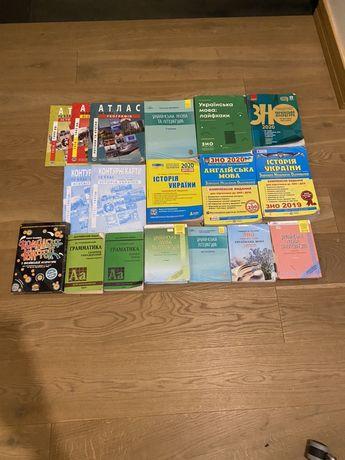 Продам книги и тесты для ЗНО