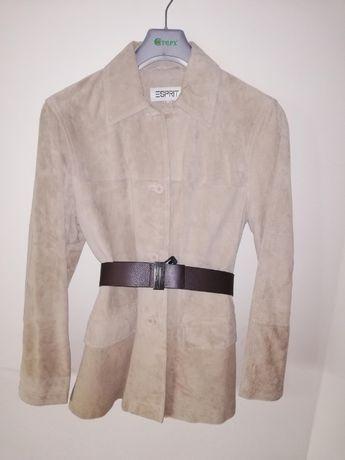 Esprit новый замшевый пиджак/ куртка L
