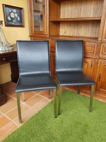 Cadeiras de napa
