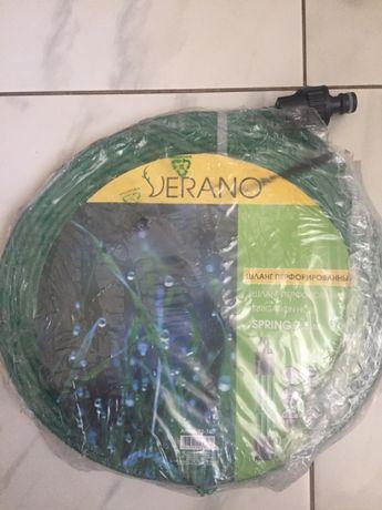 Продам шланг дощового поливу перфарований Werano spring 7,5м