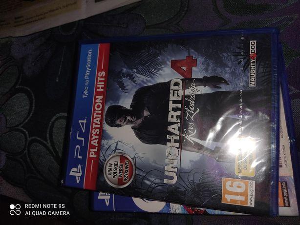 Uncharted 4 kres złodzieja nowa folia ps4 PlayStation 4