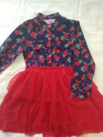 Платье нарядное для девочки 400 руб
