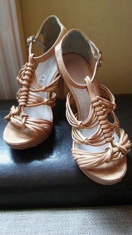 Sandały sandałki buty szpilki rozmiar 37