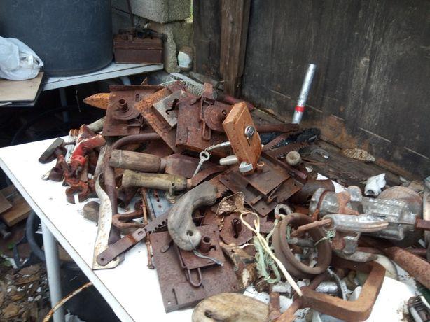 Loiças e ferro várias peças