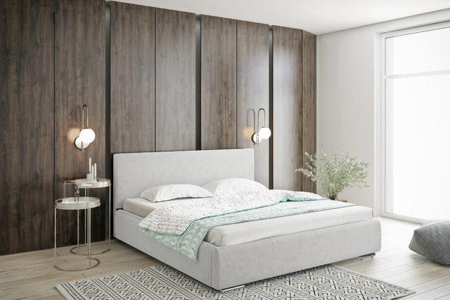 Łóżko tapicerowane małżeńskie do sypialni 120/140/160/180/200 Pojemnik