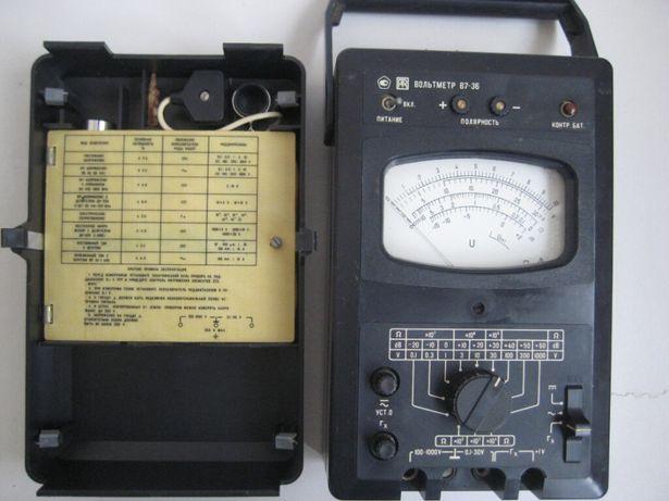 Измерительный прибор (вольтметр В7-36)