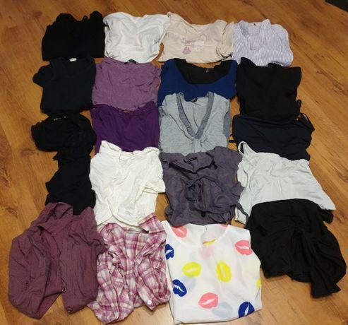 Mega paka ciuchów 20 szt koszulki bluzki sweter bolerka rozm xs i s