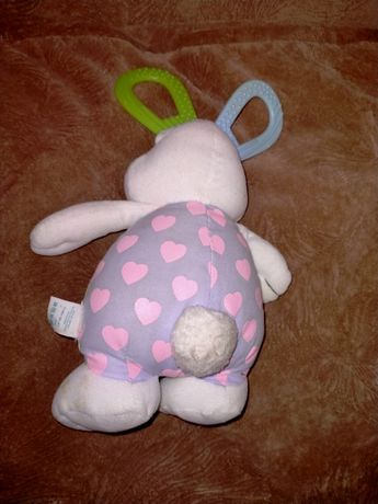 Іграшка розвивалка на каляску, гризун зайчик чіко клоун брязкальце