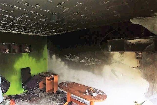 Czyszczenie sprzątanie mieszkania po pożarze dezynfekcja ozonowanie