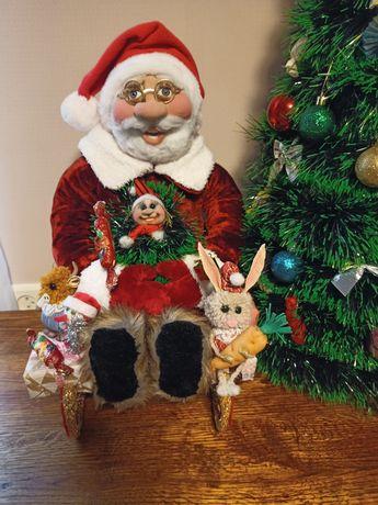 Дед Мороз ручной работы.