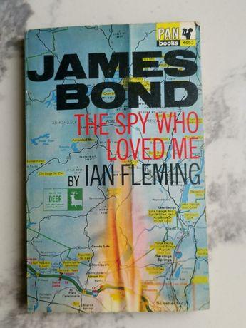 "Ian Fleming ""James Bond The Spy Who Loved Me"" rok.1962"